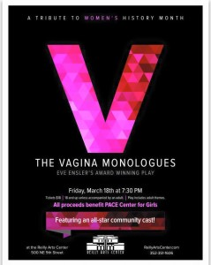 VAGINA MONOLOGUES Reilly Arts Center