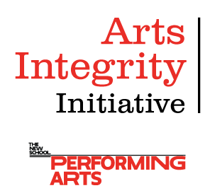 Arts Integrity Initiative in partnership with the New School
